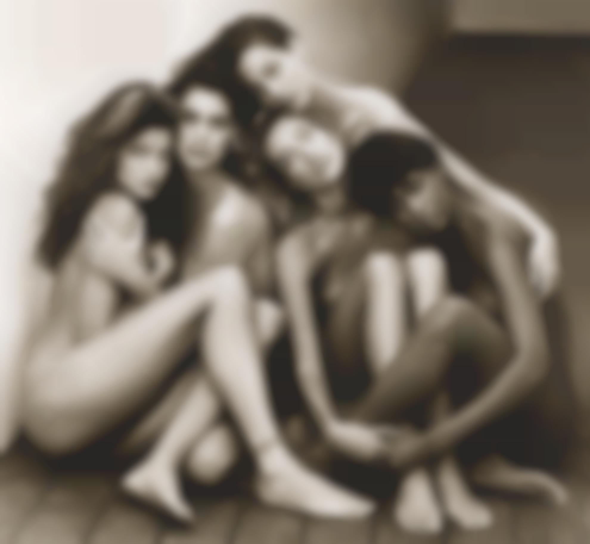 Herb Ritts-Stephanie, Cindy, Christy, Tatjana, Naomi-1989