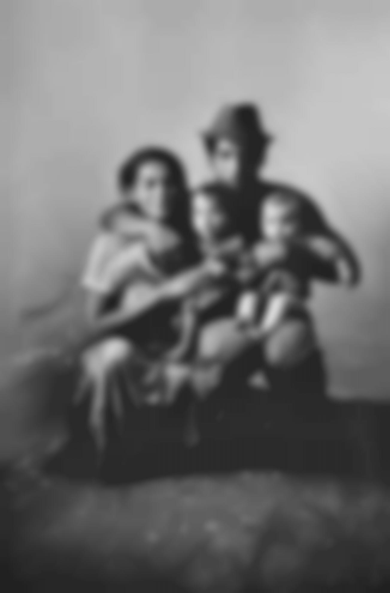 Josef Koudelka-Zehra (Gypsy Family)-1967