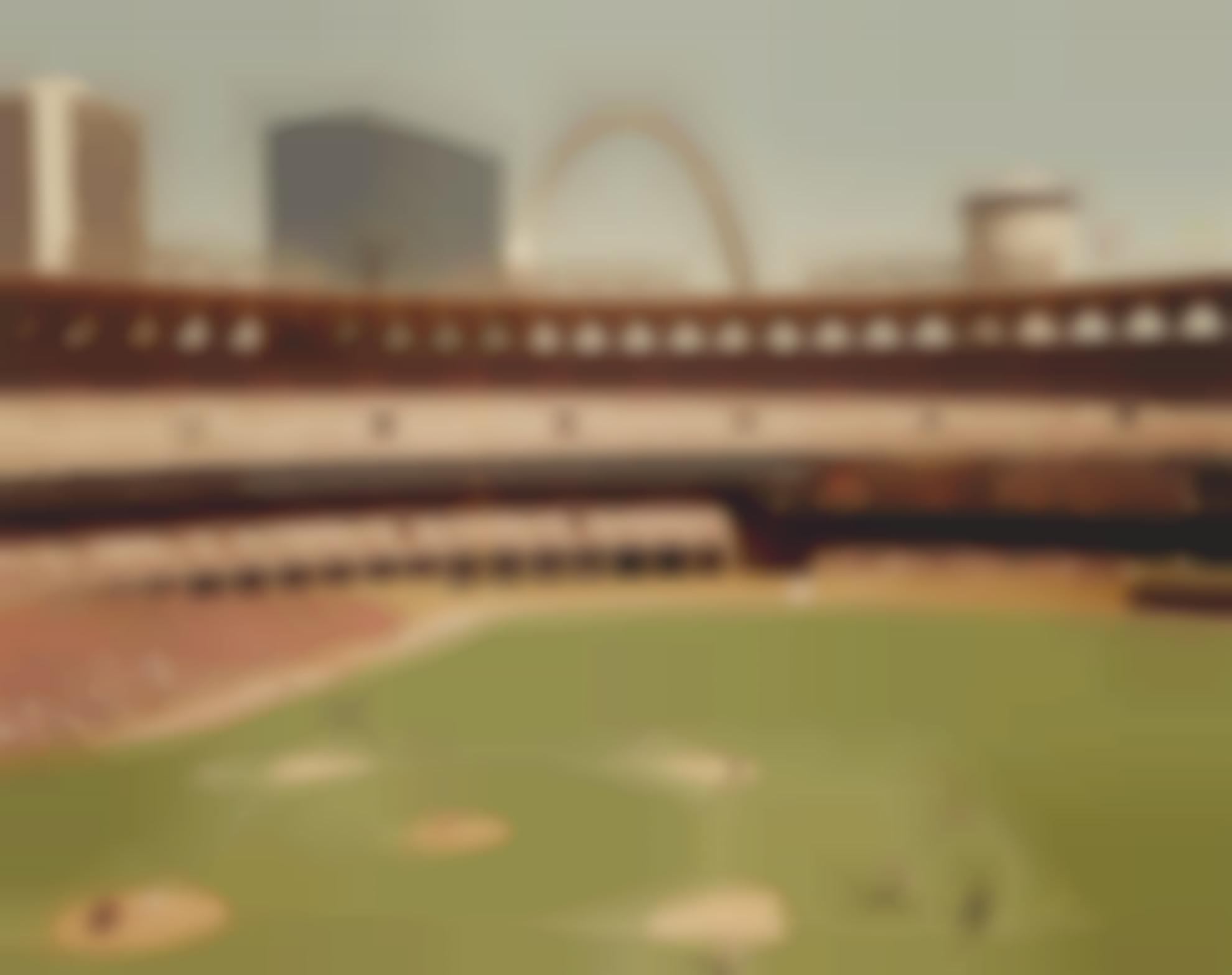 Joel Meyerowitz-St. Louis And The Arch, Busch Stadium-1978