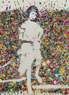 Vik Muniz-Portrait Of Alice Liddell, After Lewis Carroll (From Rebus)-2004