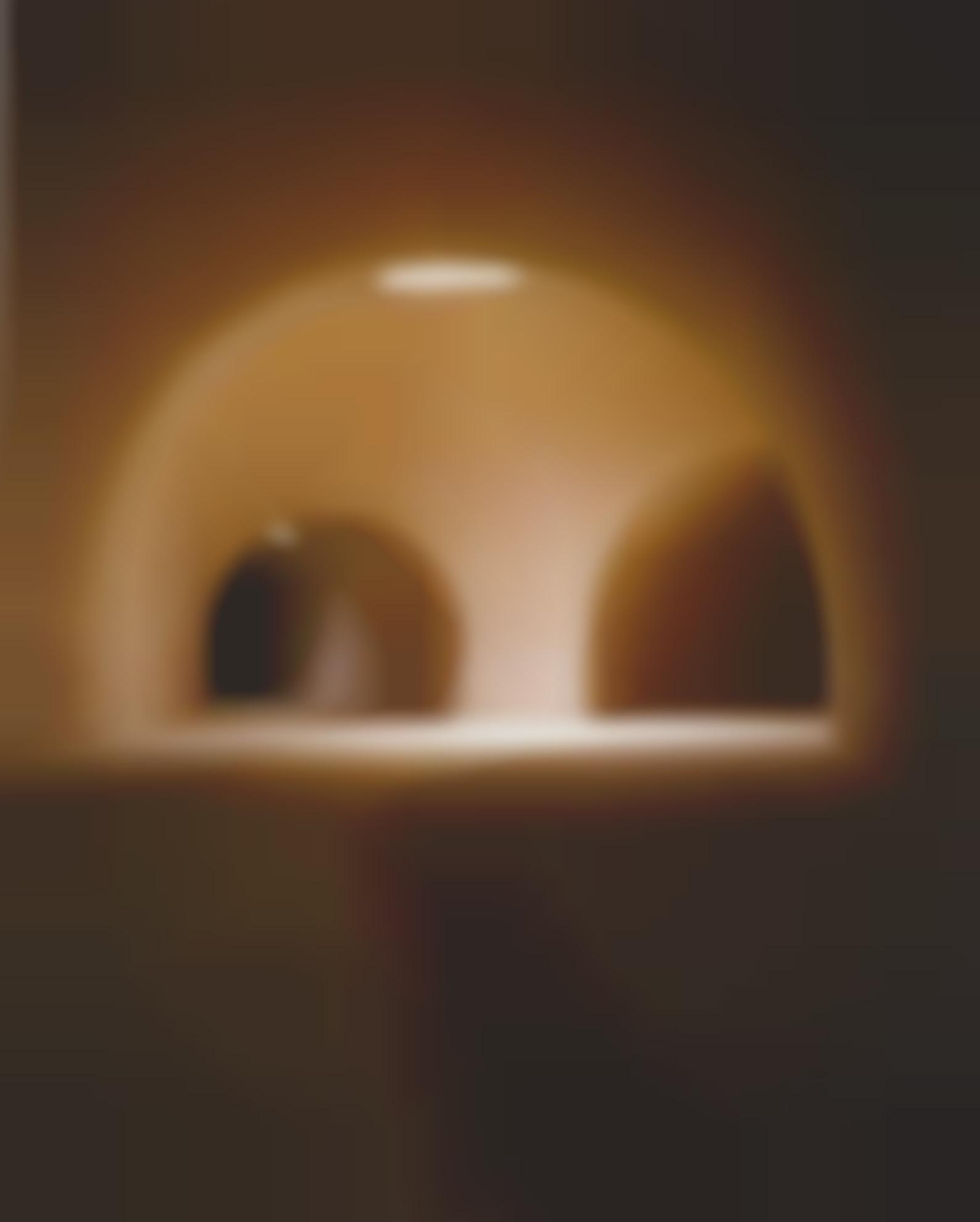 James Casebere-Two Tunnels From The Right (Vertical)-1998