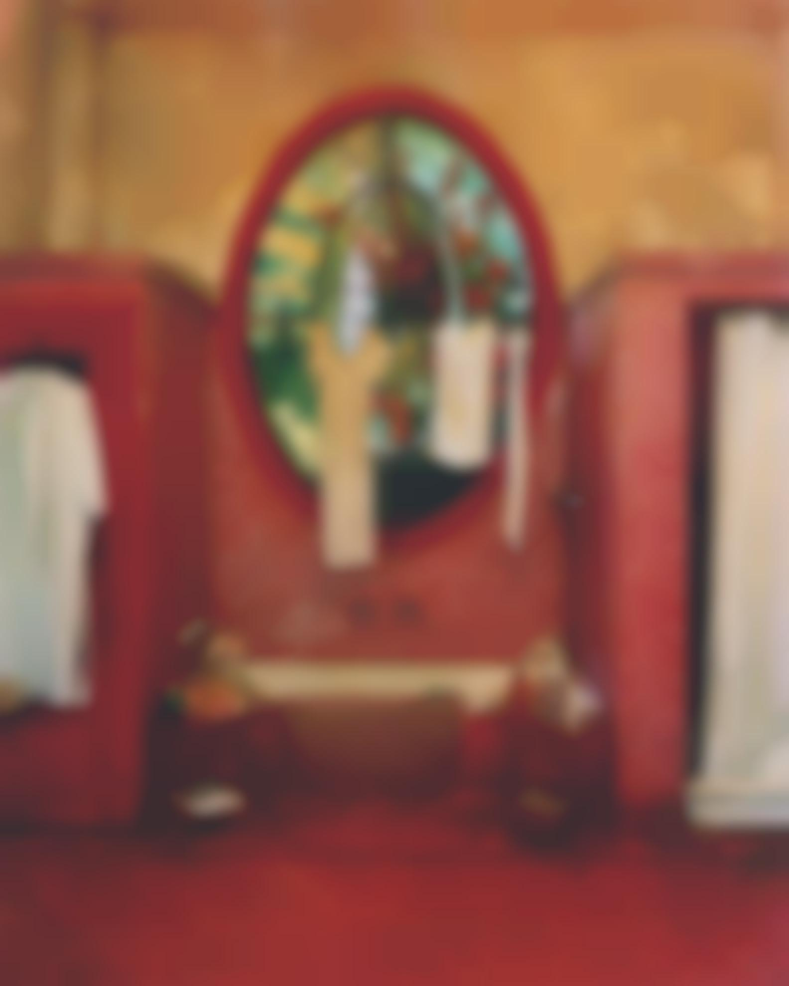 Michael Eastman-Red Bathroom (Havana)-2002