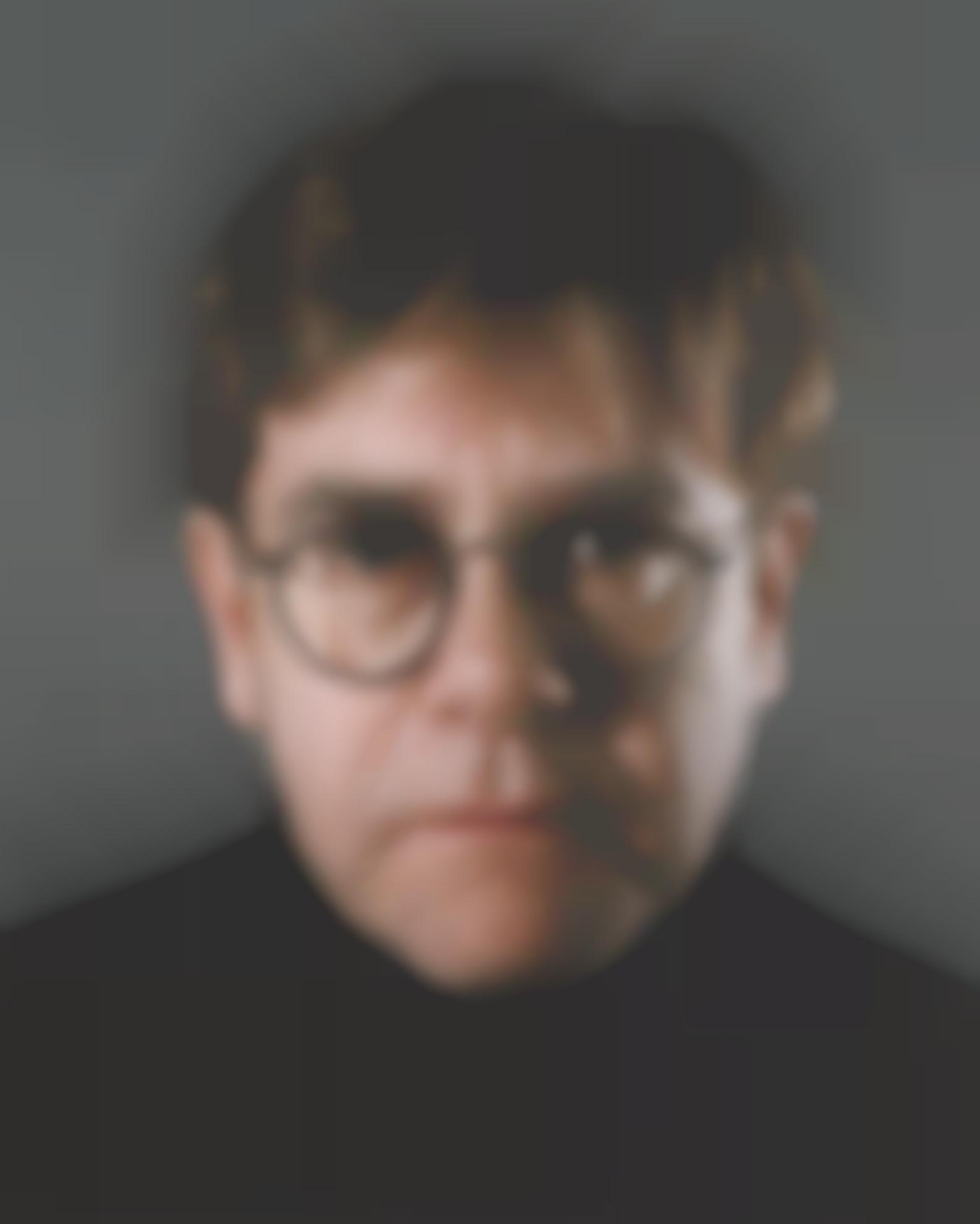Chuck Close-Elton-2000