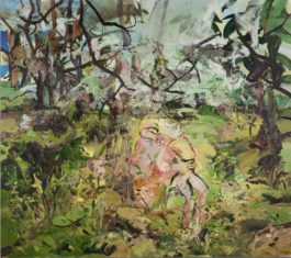 Cecily Brown-Sock Monkey-2003