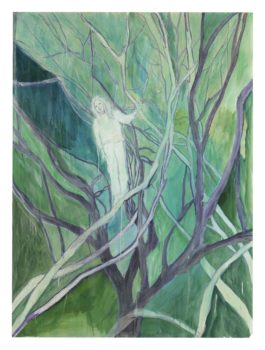 Peter Doig-Study For Girl In White With Trees-2002