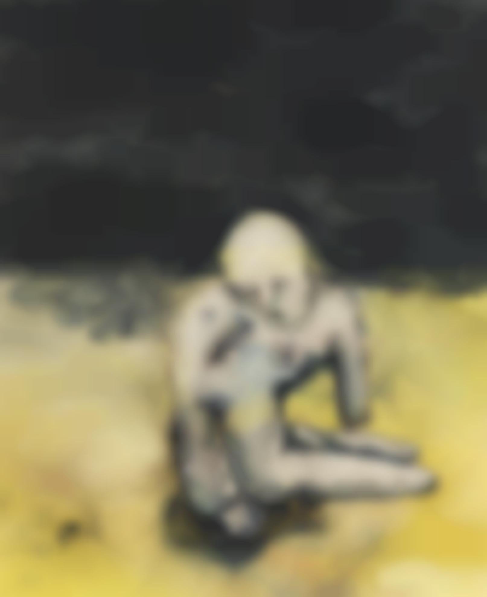 Georg Baselitz-Grosse Nacht Im Eimer-1963