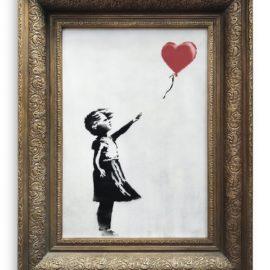 Banksy-Girl With Balloon-2006