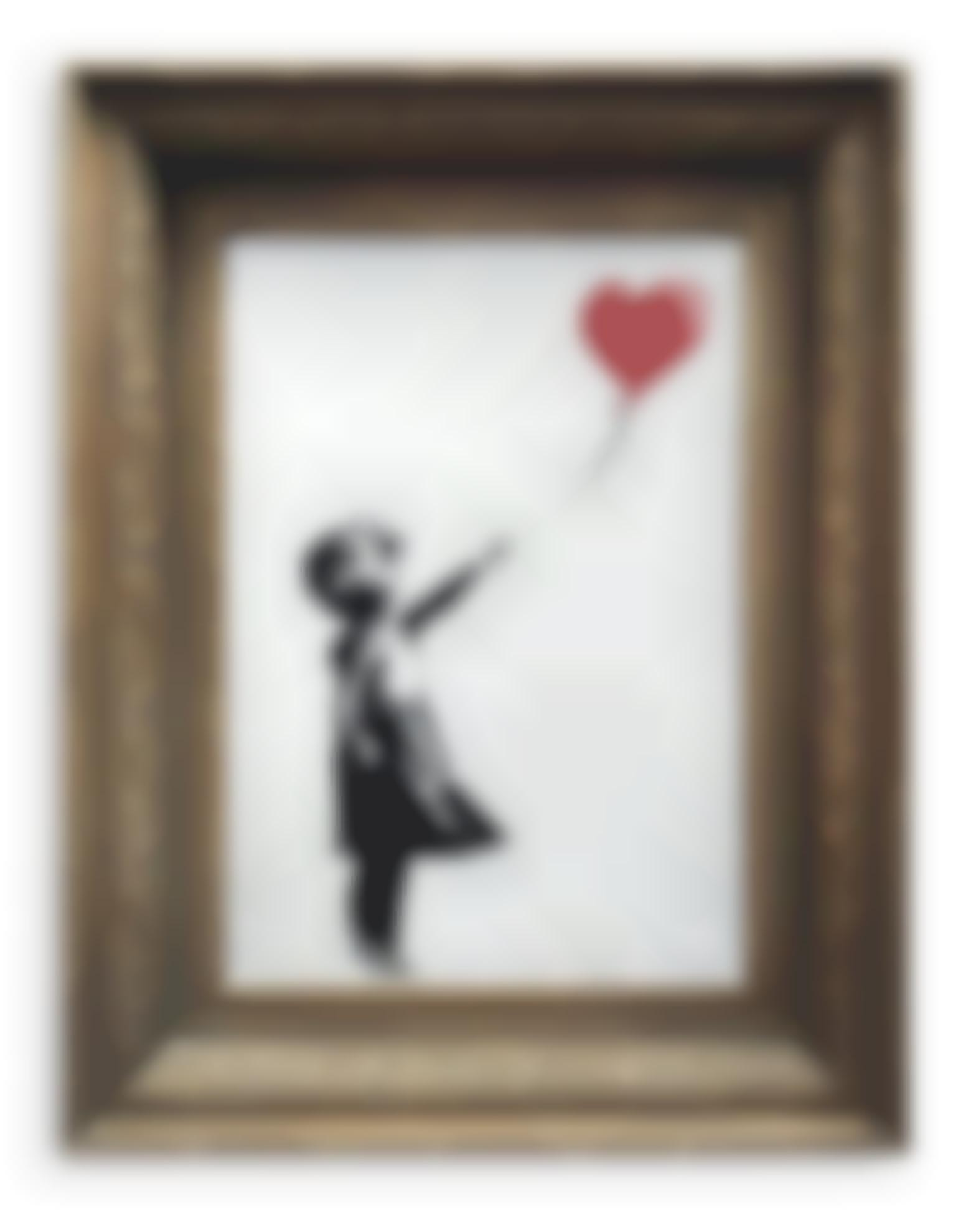 Banksy-Girl With Balloon-2006