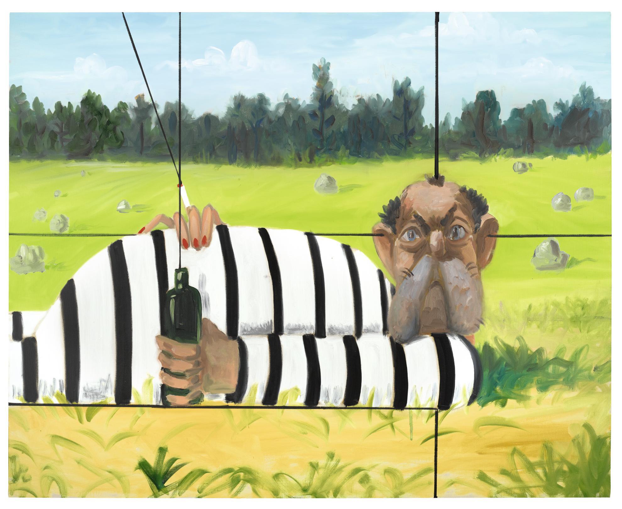 George Condo-The Prisoner-2009