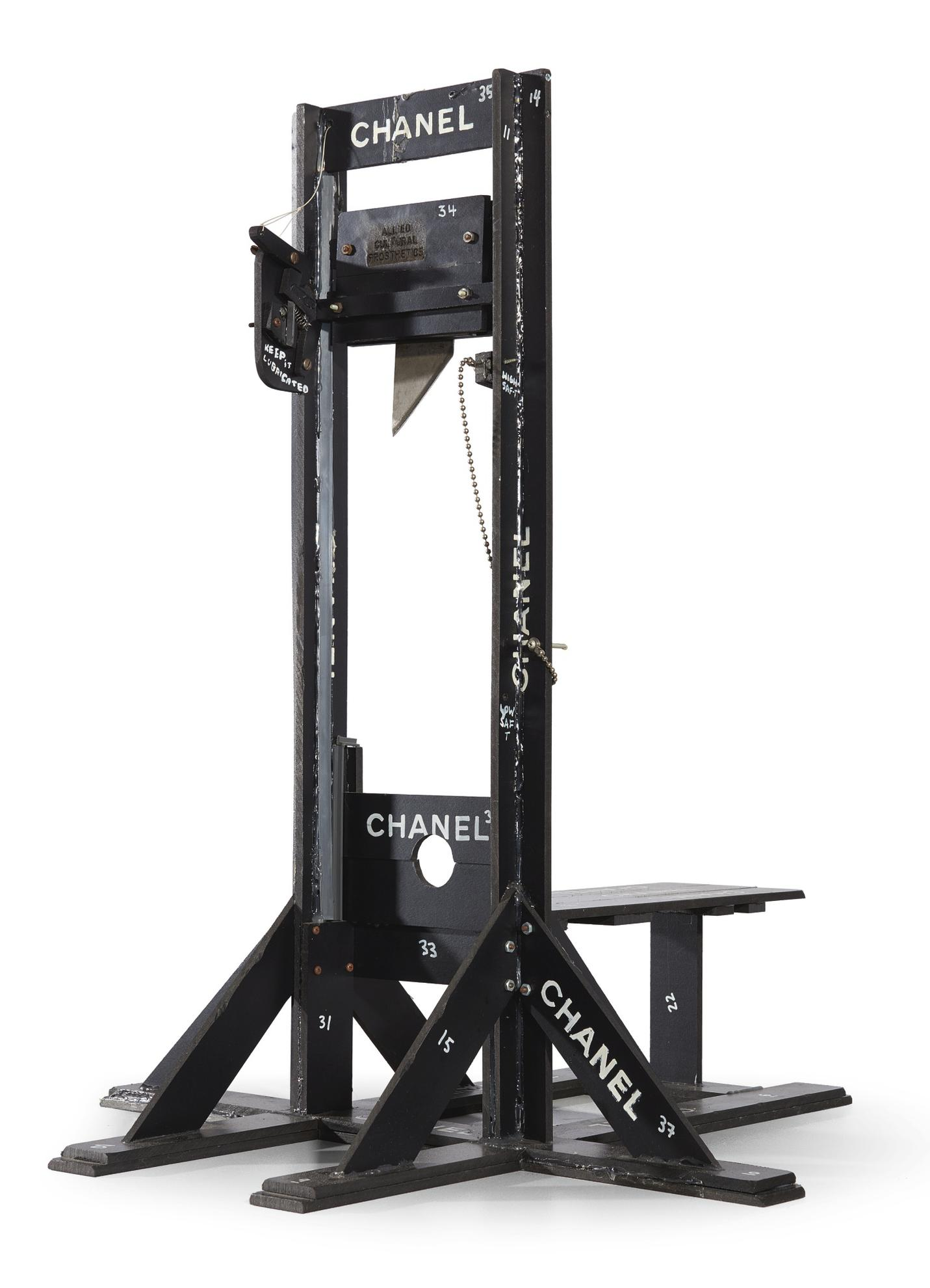 Tom Sachs-Chanel Guillotine-1998