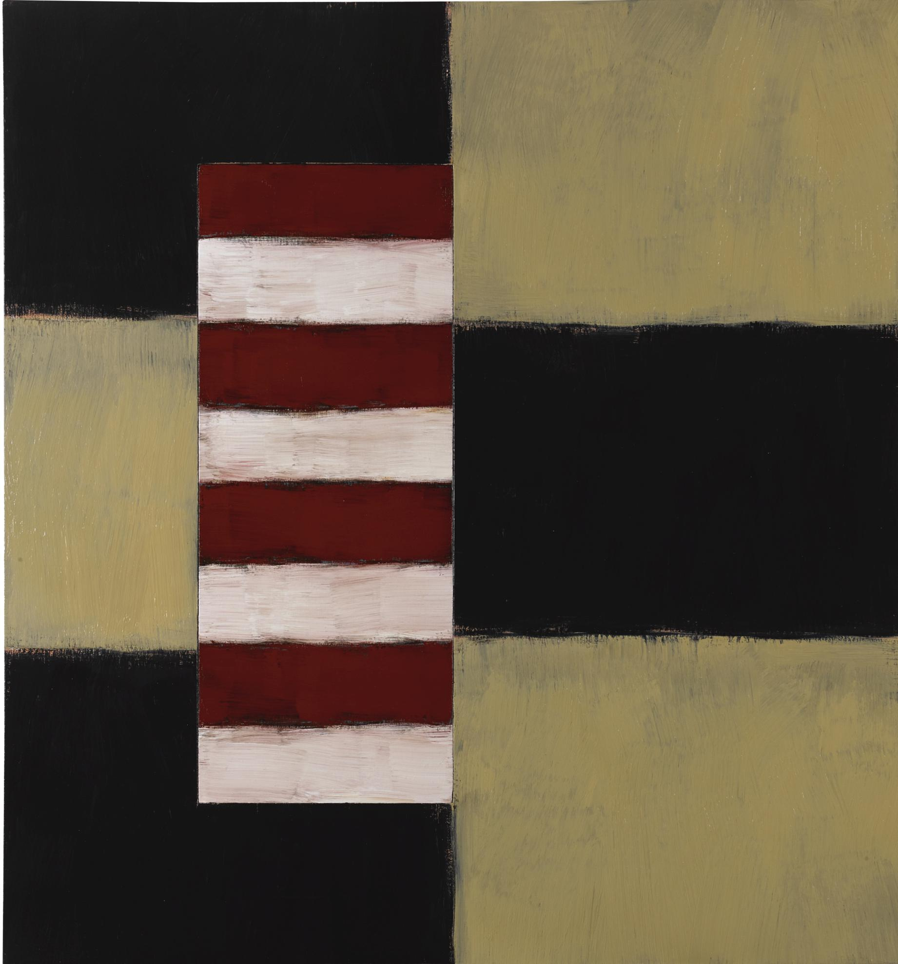 Sean Scully-Passenger Red White-1997