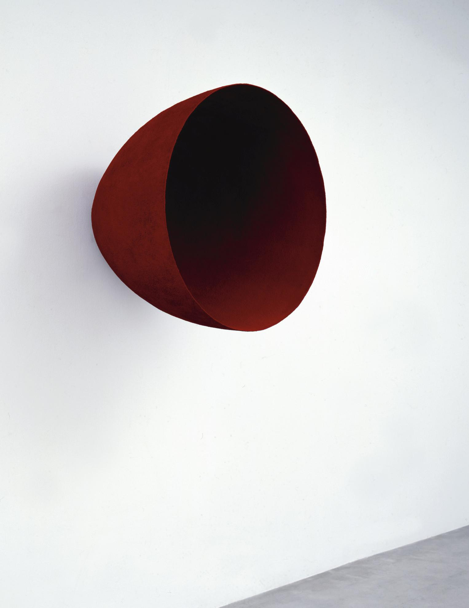 Anish Kapoor-Eyes Turned Inwards-1992