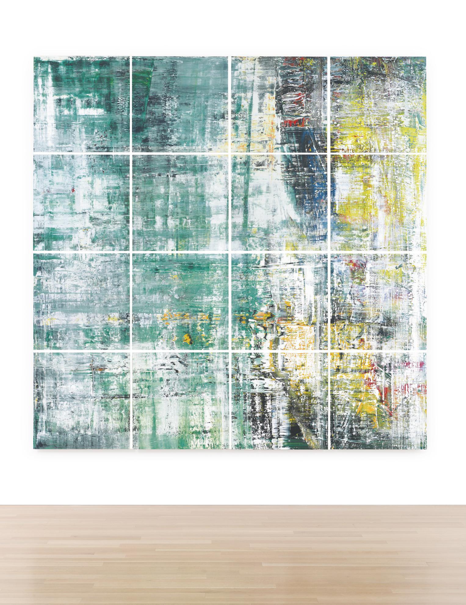 Gerhard Richter-Cage Grid (Complete Set)-2011