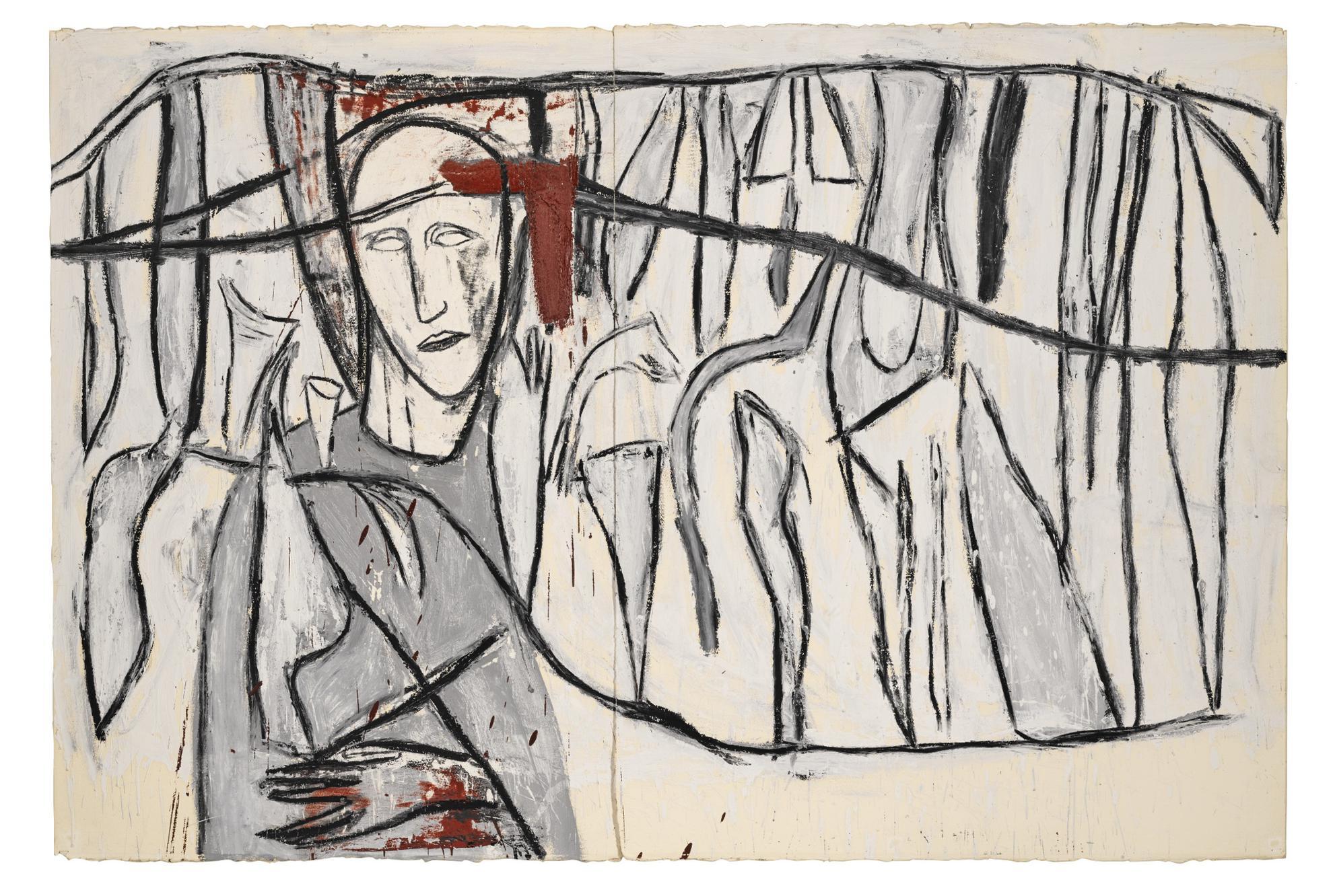 Mimmo Paladino-Untitled-1986