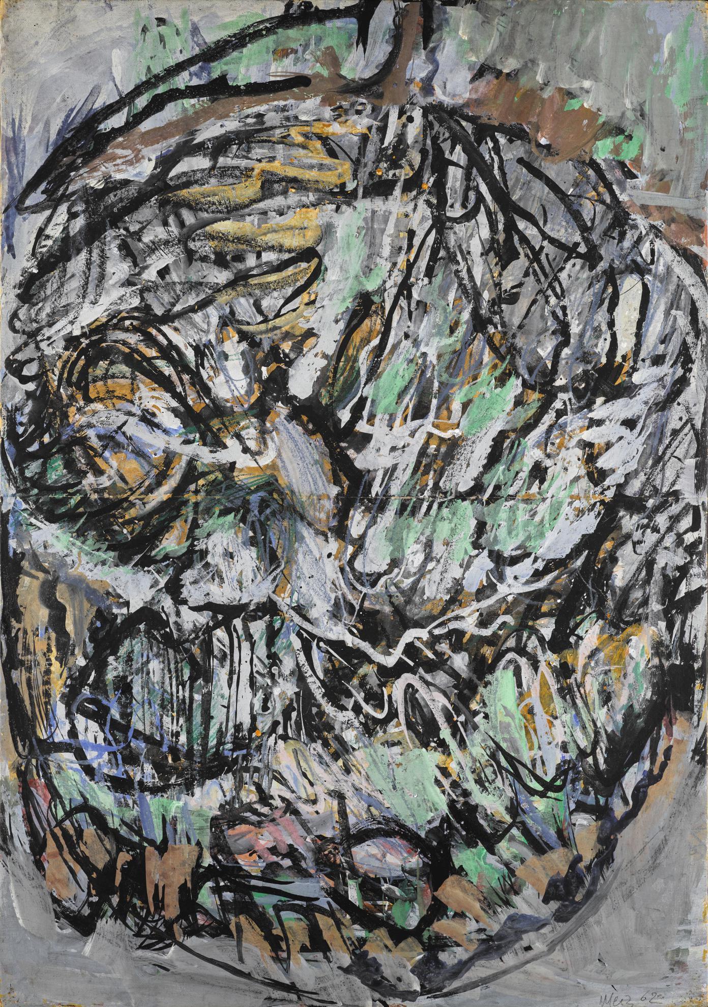 Mario Merz-Untitled-1962