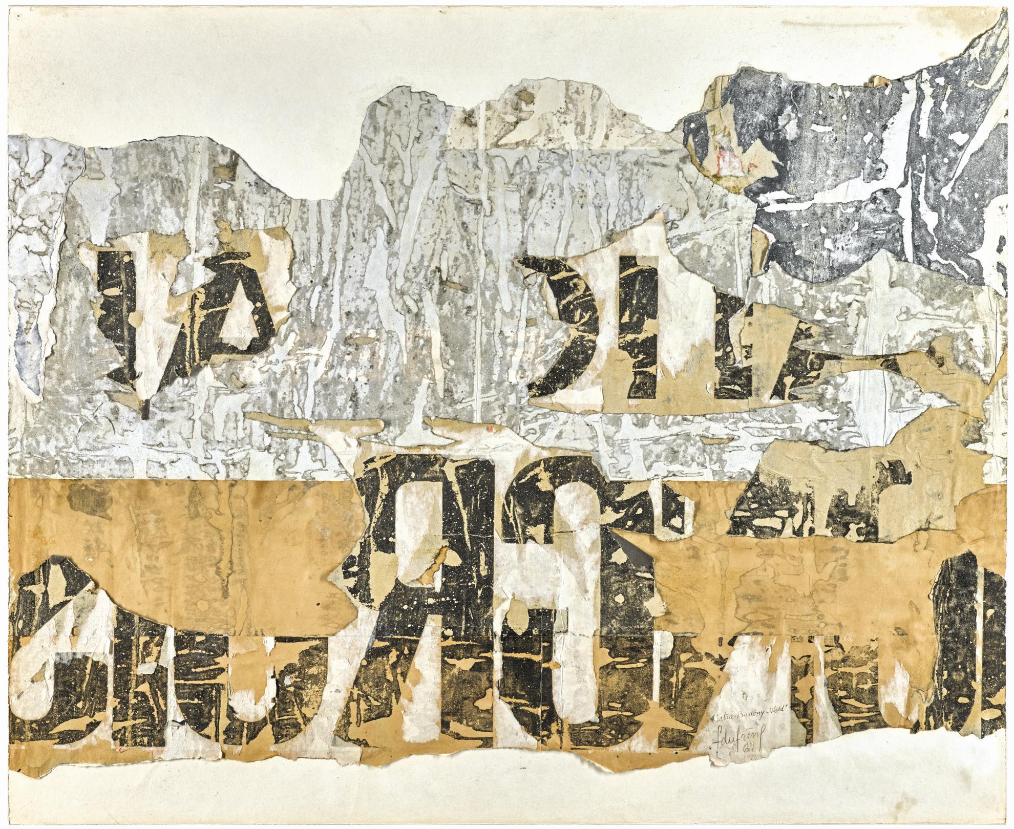 Francois Dufrene-Matra Bakony Wald-1961