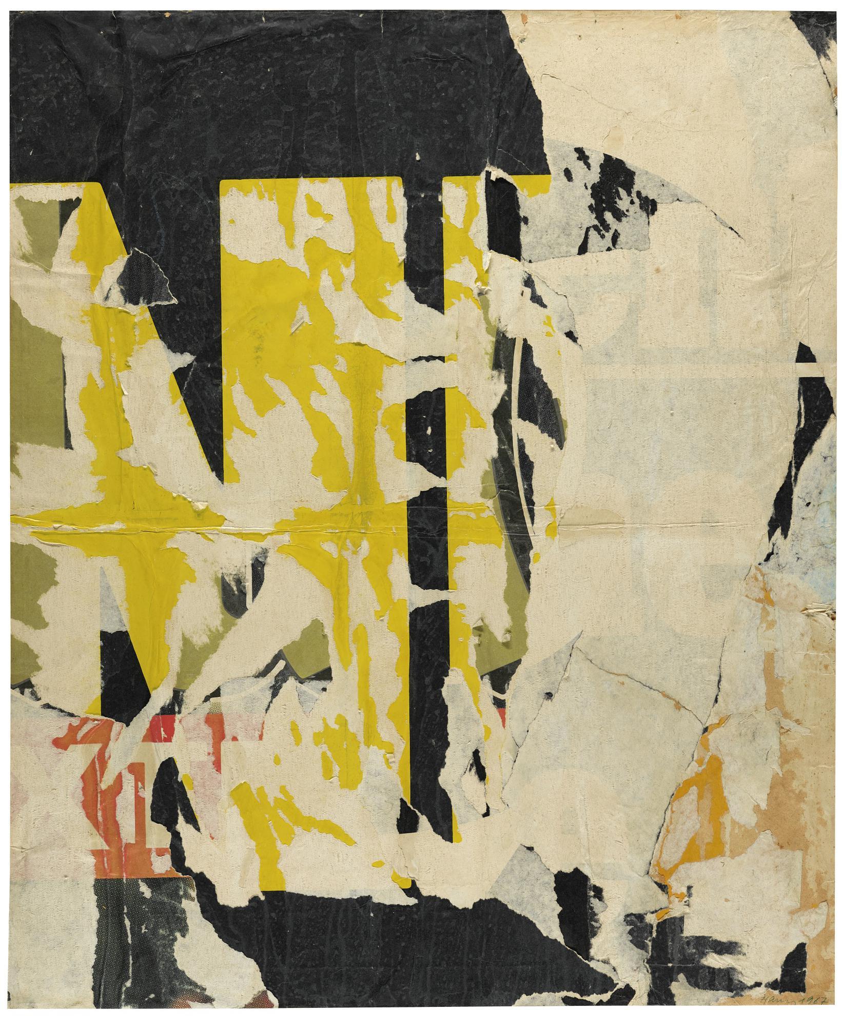 Raymond Hains-Rue Lanneau-1967