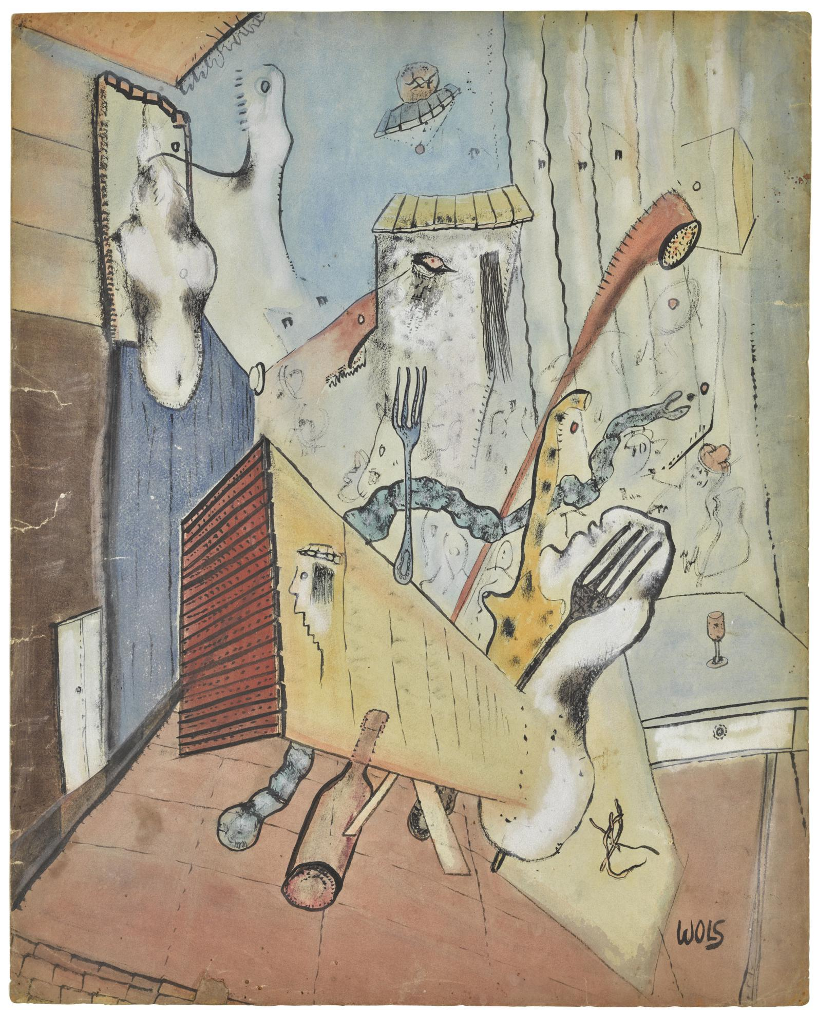 Wols-Les Deux Fourchettes-1939