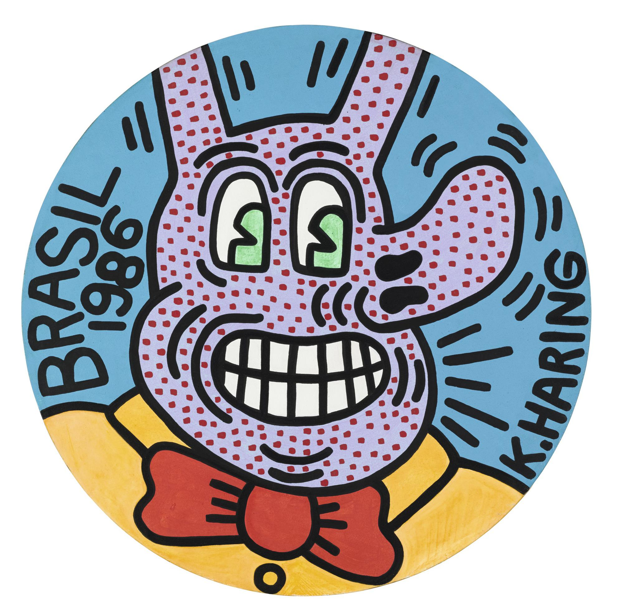 Keith Haring-Untitled (Brasil)-1986