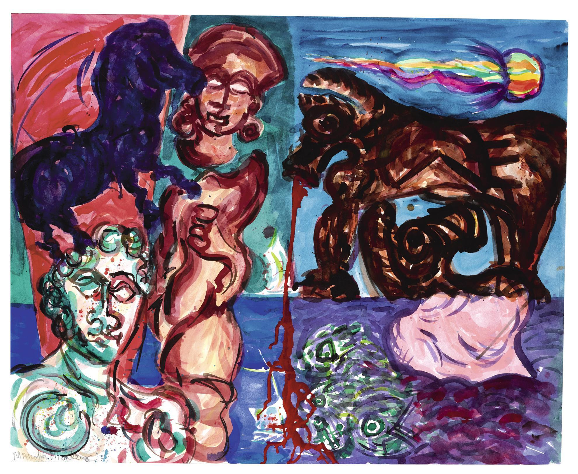 Malcolm Morley-Aegean Fantasies (Return Of Ulysses)-1985