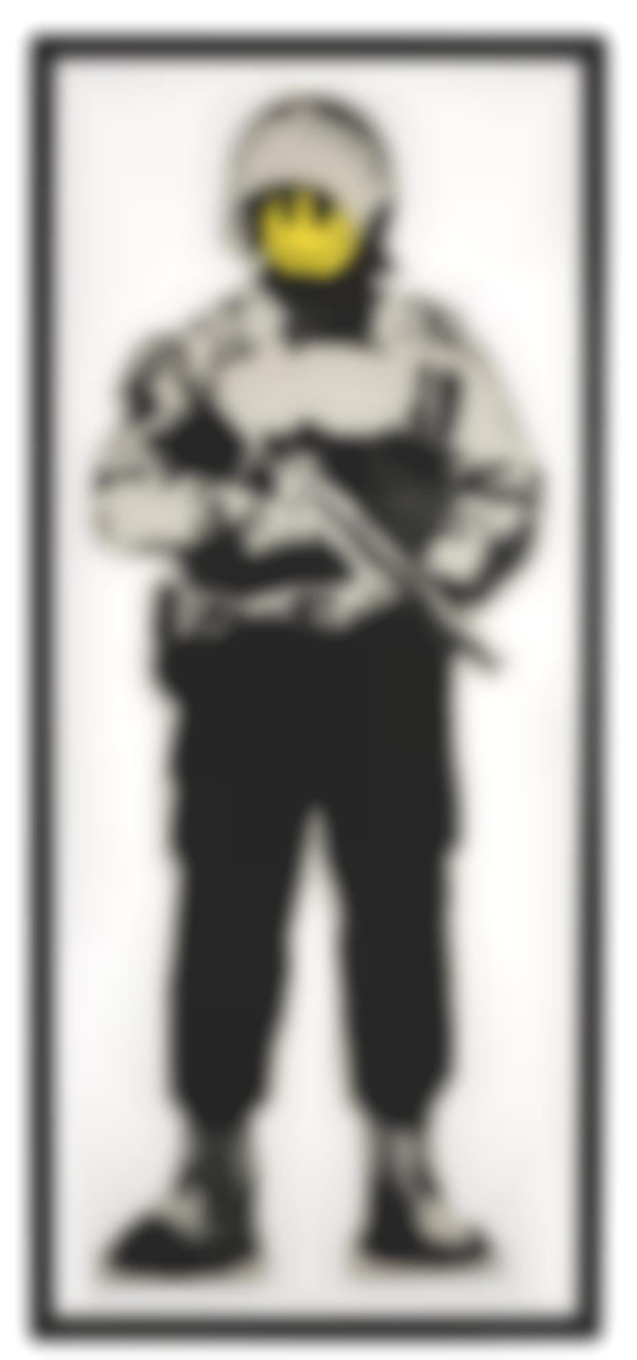 Banksy-Smiling Copper-2003