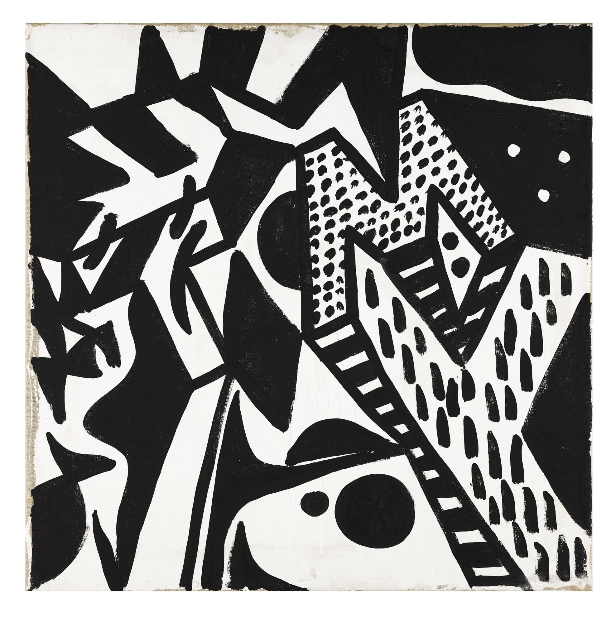 A.R. Penck-Untitled (9Tm)-1974