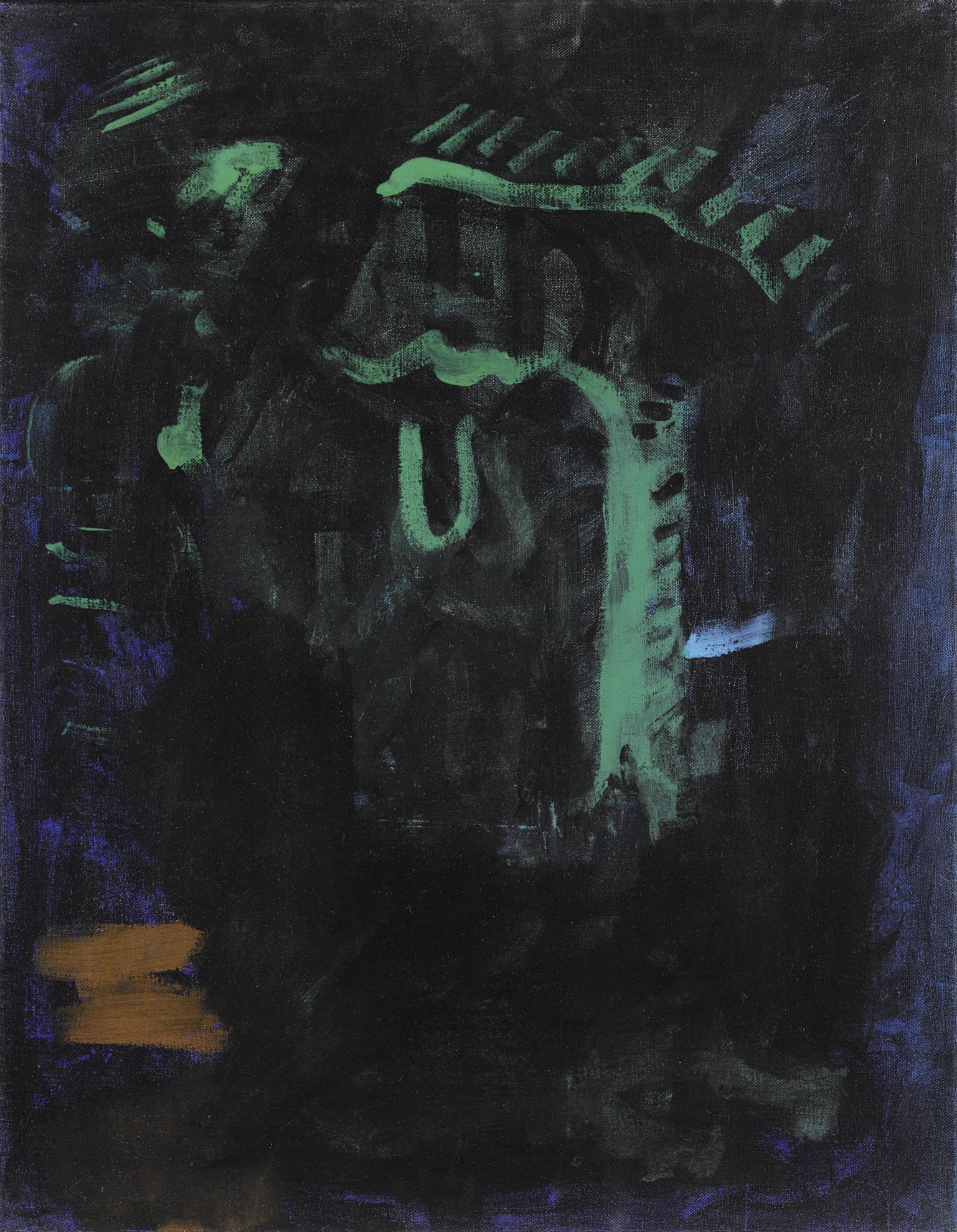 Michael Krebber-Ohne Titel-1993