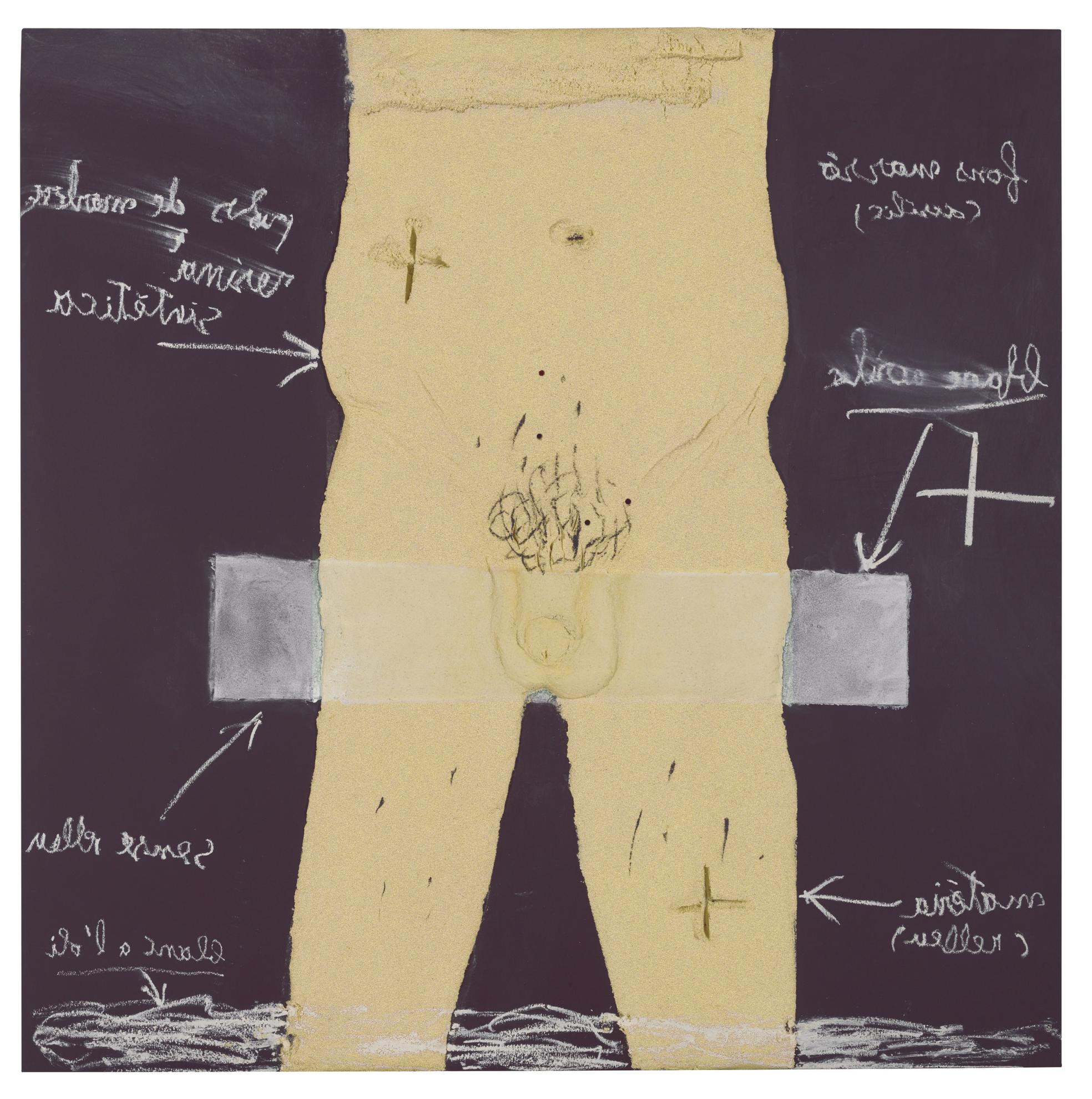Antoni Tapies-Home-2002