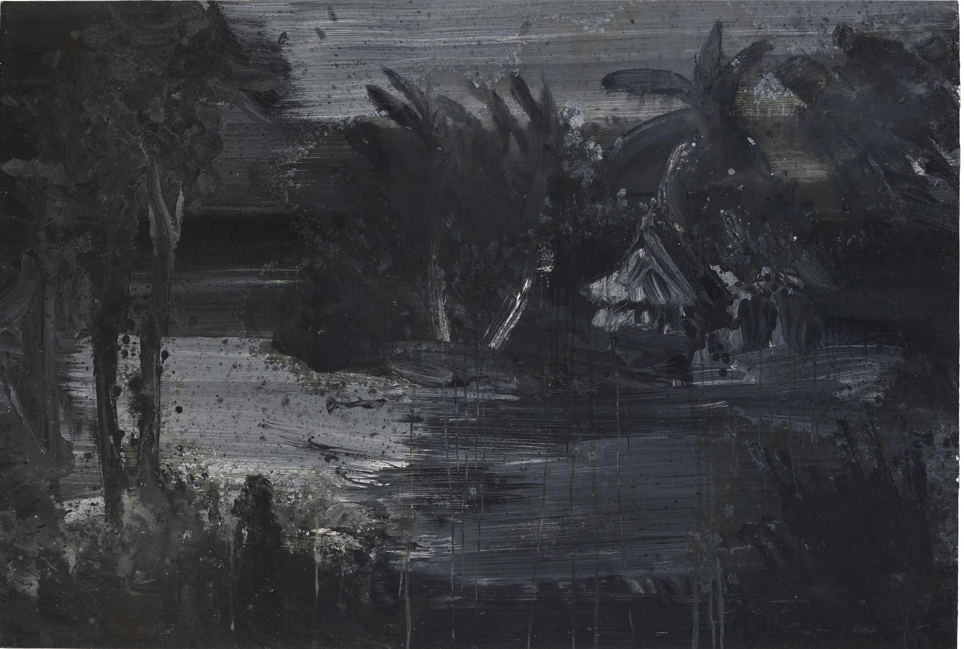 Yan Pei-Ming-International Landscape #5-1998