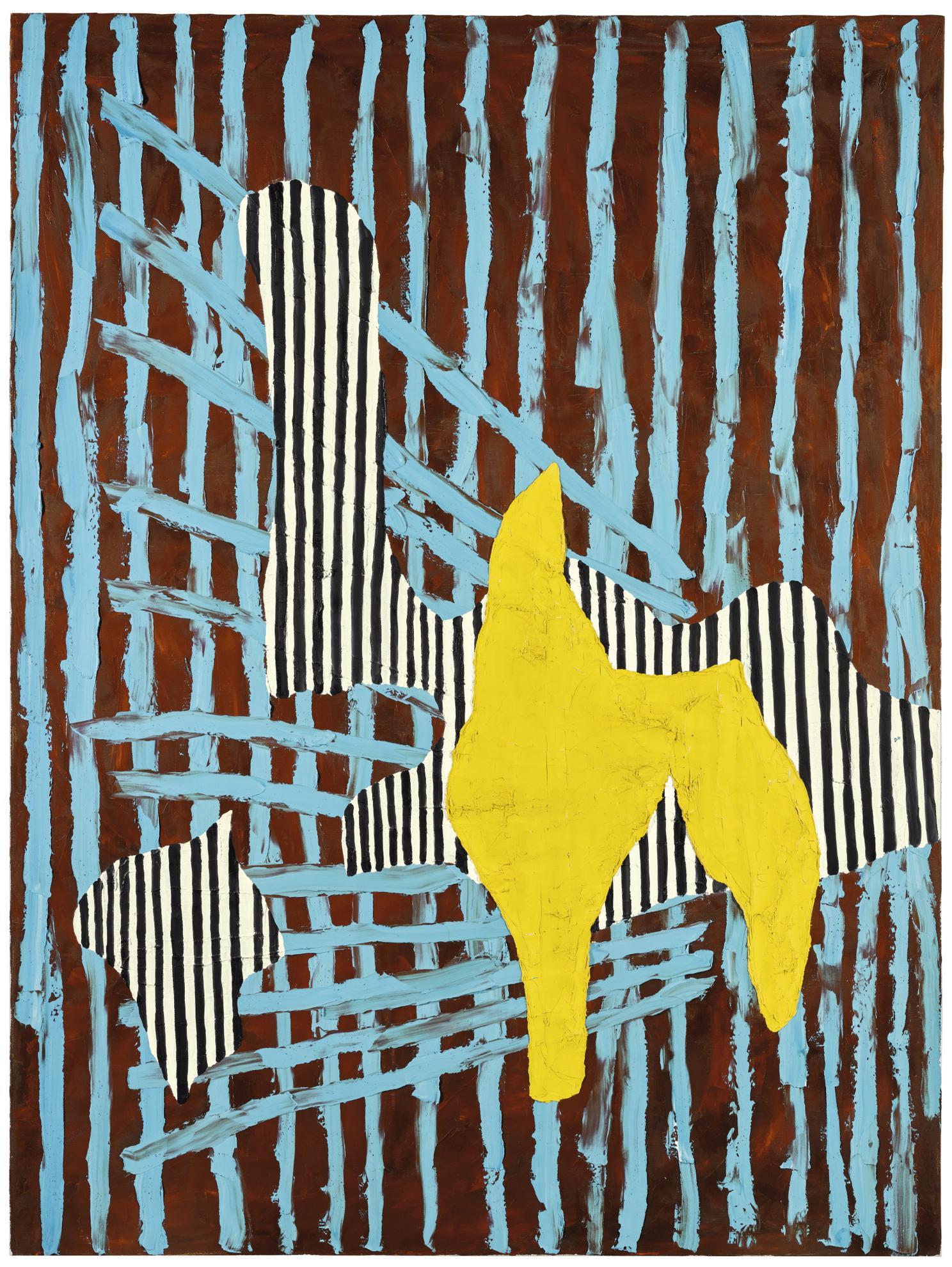 Jonathan Lasker-Prehistoric Fads-1986