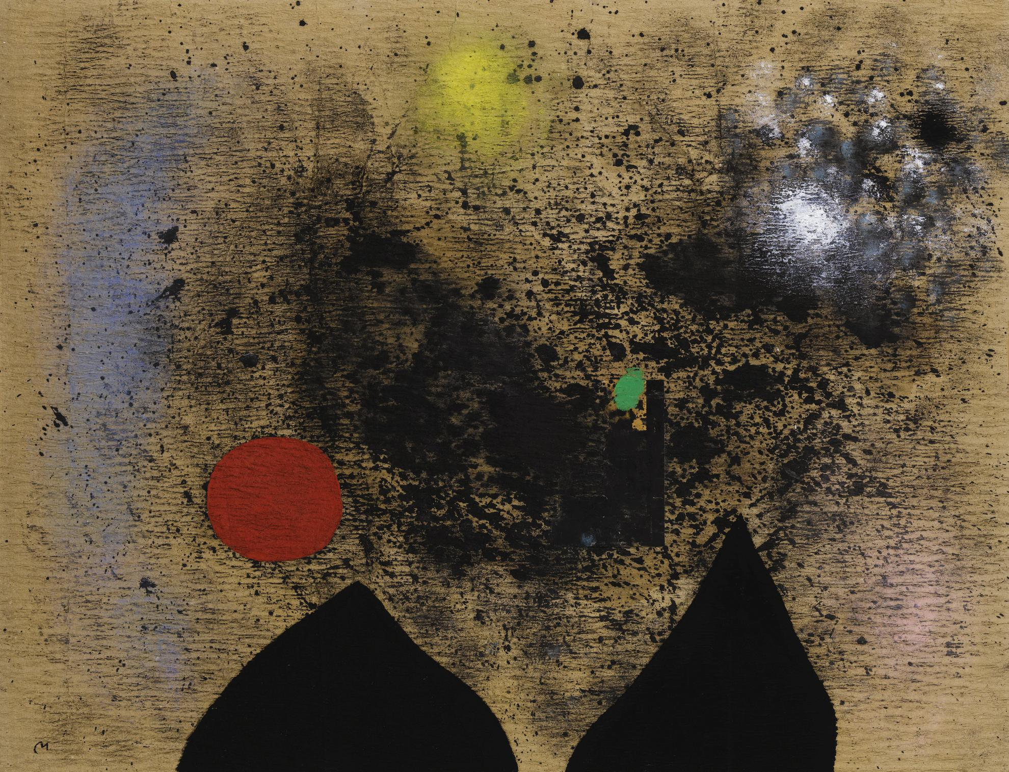 Joan Miro-Paysage-1960