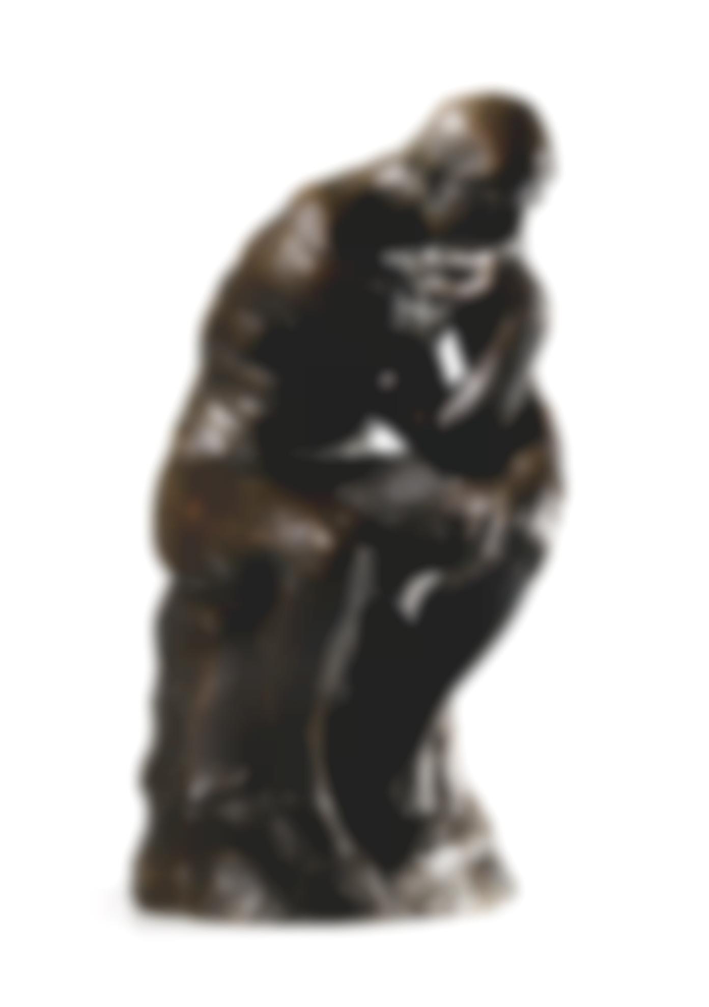 Auguste Rodin-Penseur, Petit Modele-1880