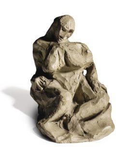 Pablo Picasso-Nu Assis-1908