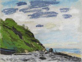 Claude Monet-Cote Pres De Honfleur