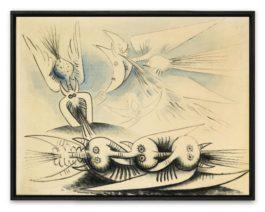 Wifredo Lam-Sans Titre-1945