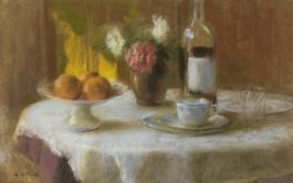 Edouard Vuillard-Nature Morte Aux Trois Oranges-1903
