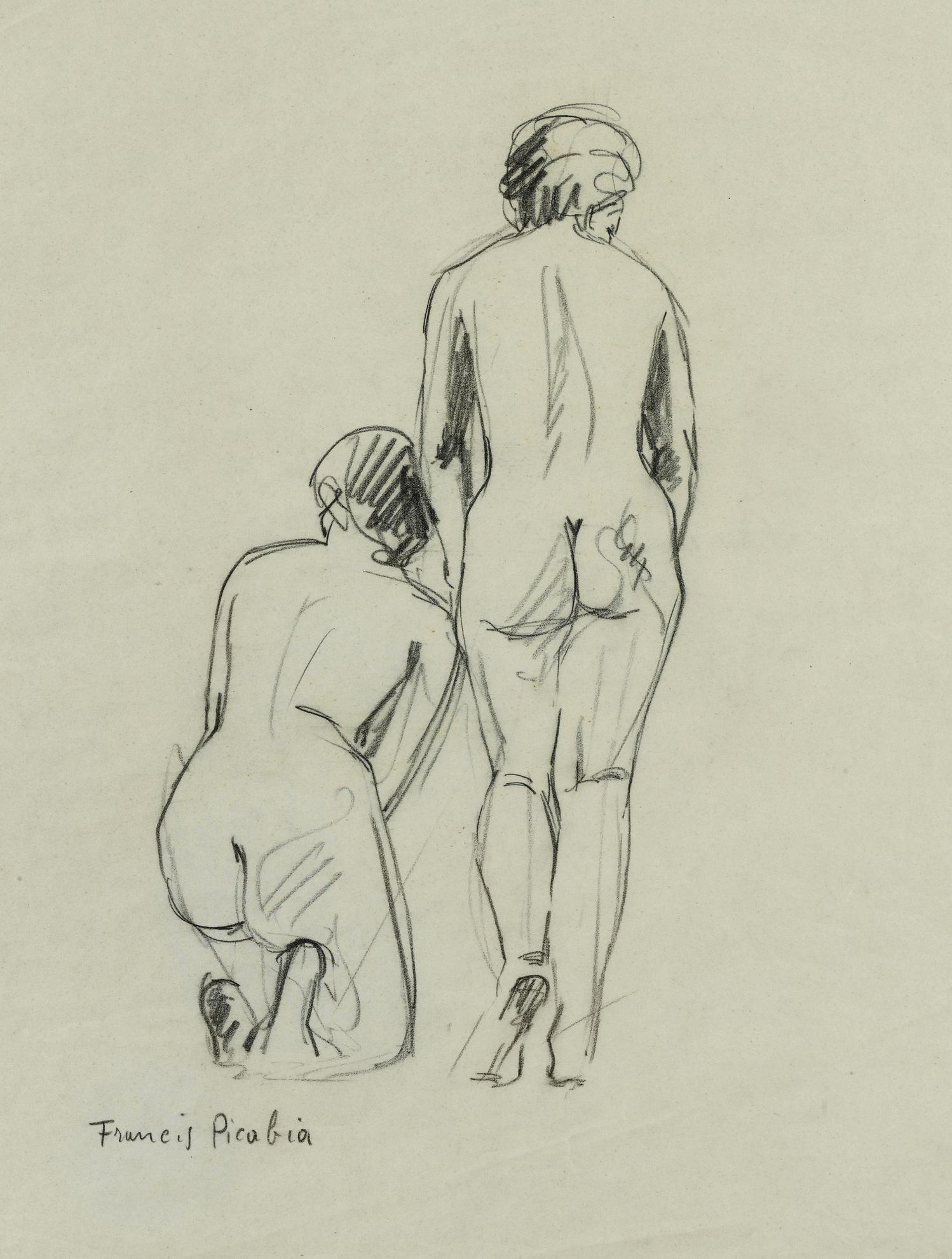 Francis Picabia-Sans Titre-1942