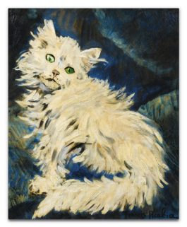 Francis Picabia-Le Chat Blanc-1943