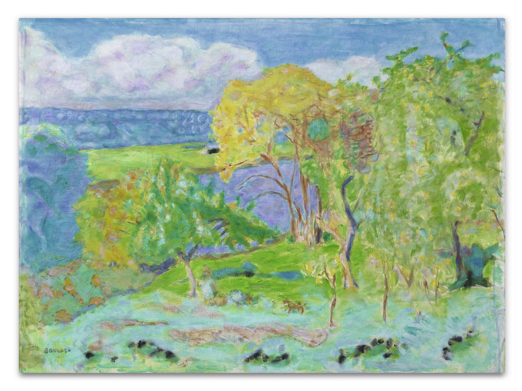 Pierre Bonnard-Paysage Dautomne (Environs De Vernon)-1915