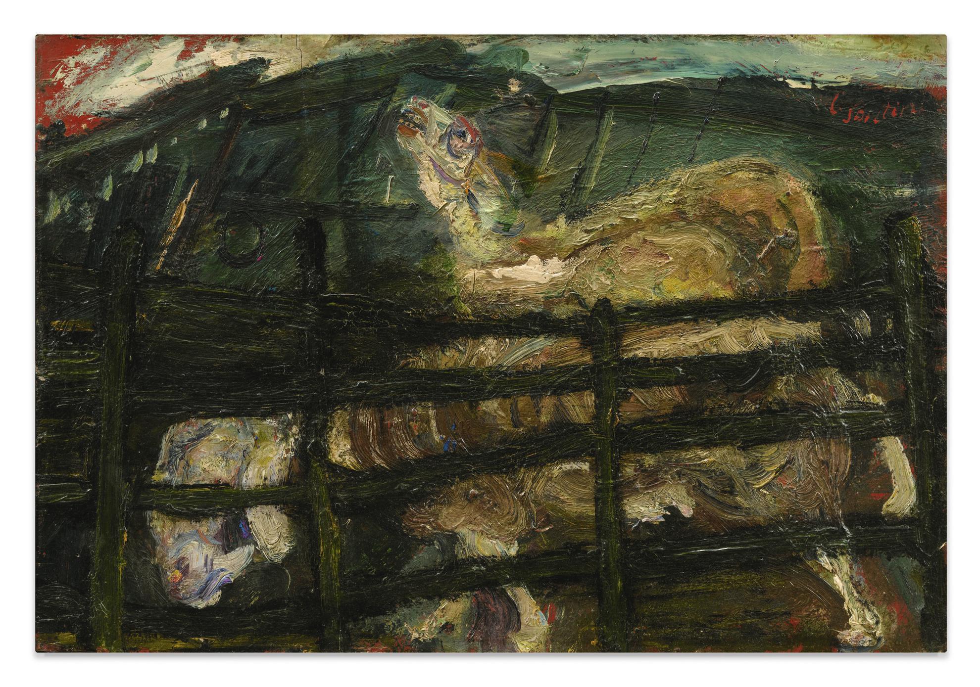 Chaim Soutine-Les Moutons-
