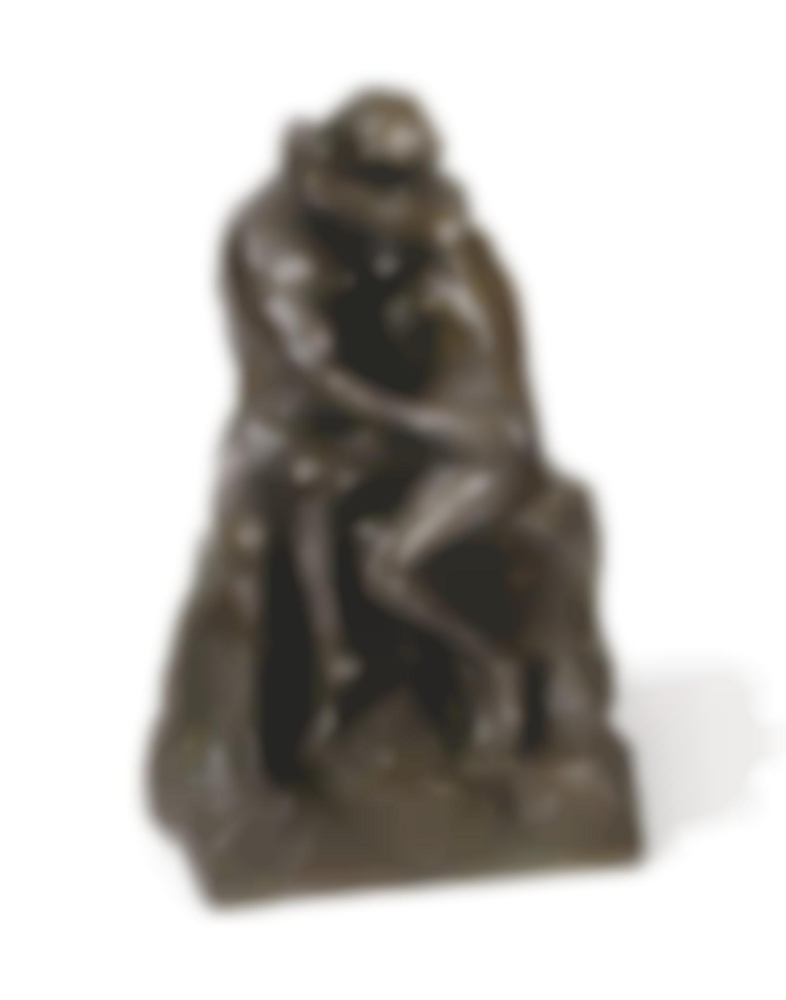 Auguste Rodin-Le Baiser, 3Eme Reduction-1886