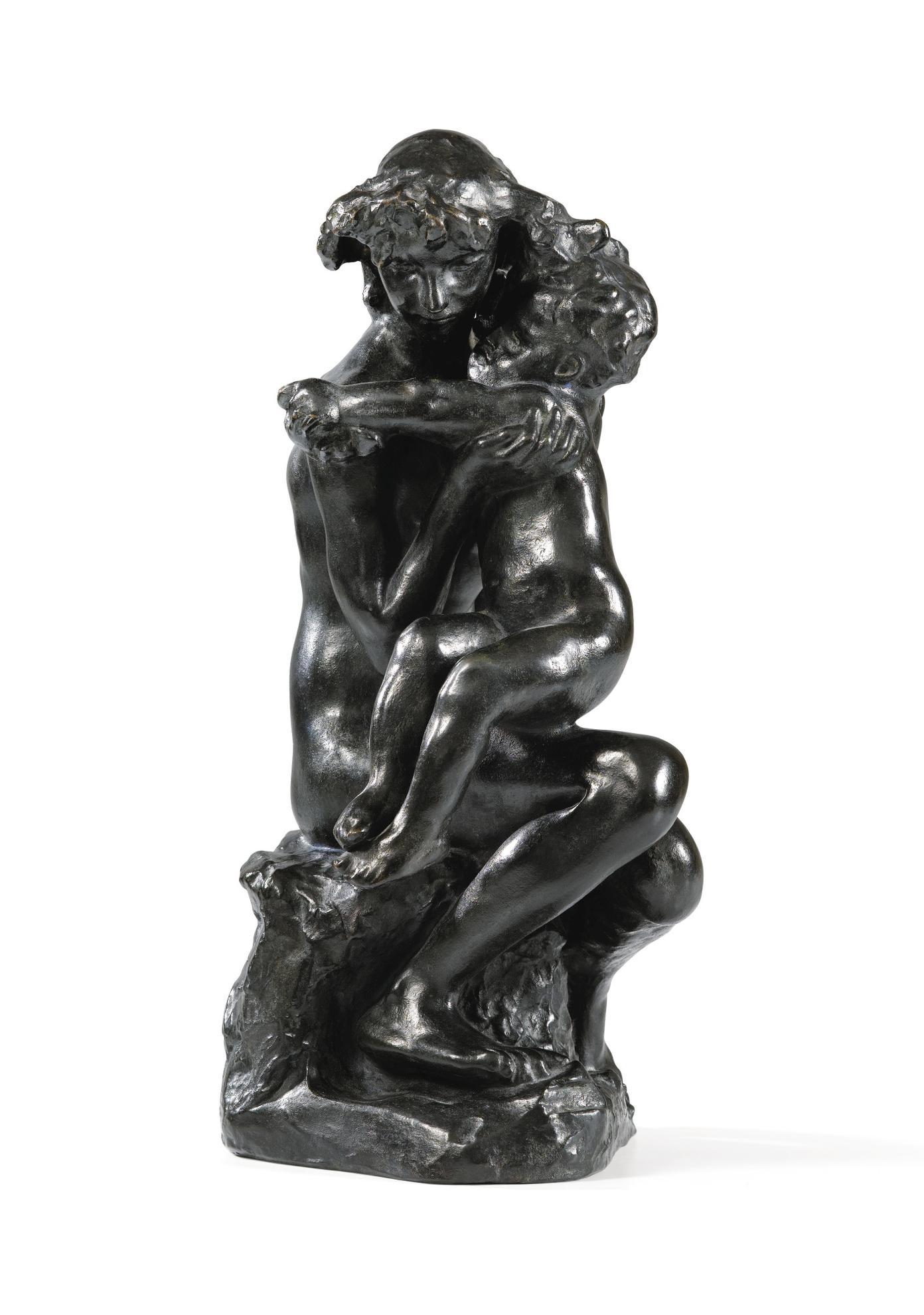 Auguste Rodin-Frere Et Soeur-1891