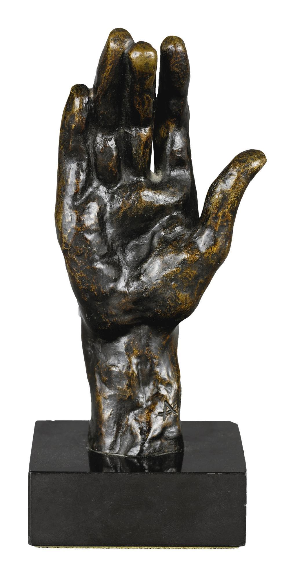 Auguste Rodin-Main Gauche No. 31, Petit Modele-1962