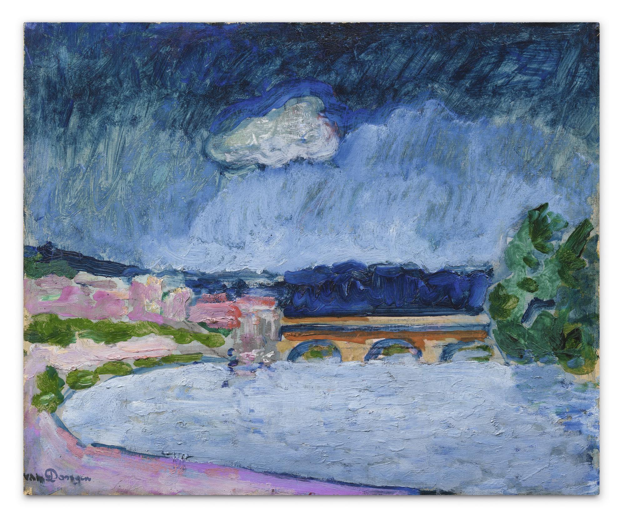 Kees van Dongen-Le Pont De Sevres-1907