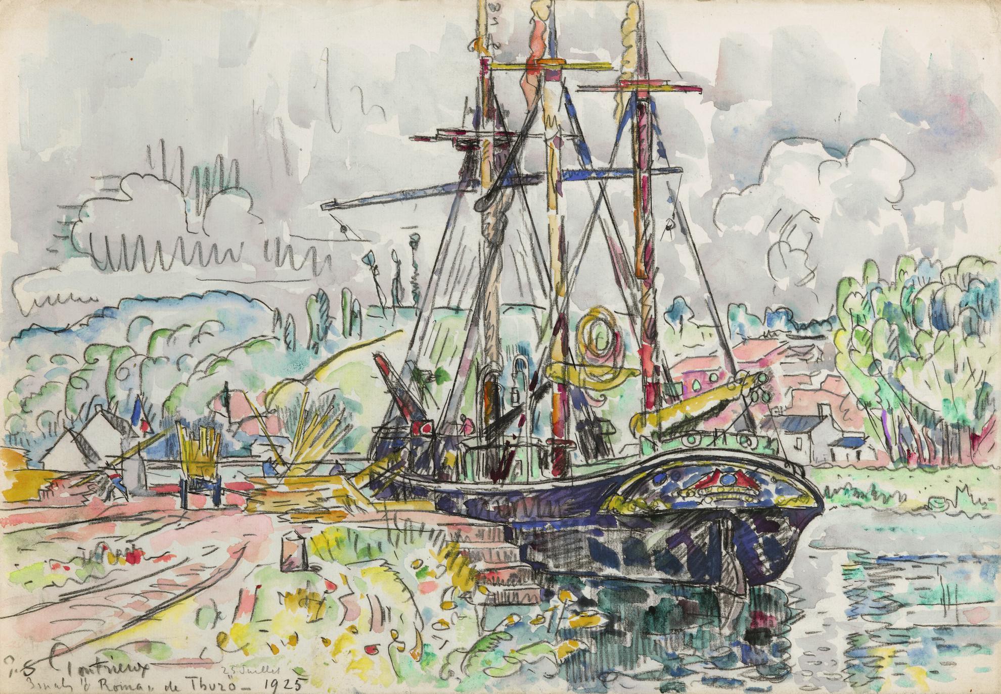 Paul Signac-Pontrieux-1925