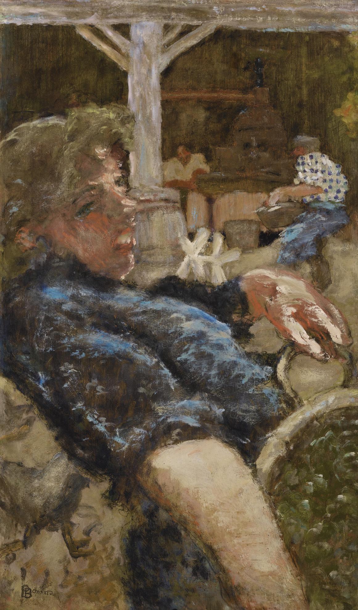 Pierre Bonnard-Le Pressoir Au Grand-Lemps-1893