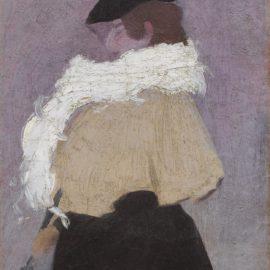 Joaquin Torres-Garcia-Figura De Mujer-1900