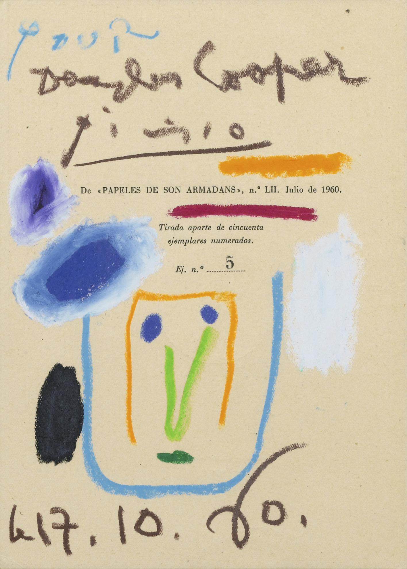 Pablo Picasso-Sans Titre-1960