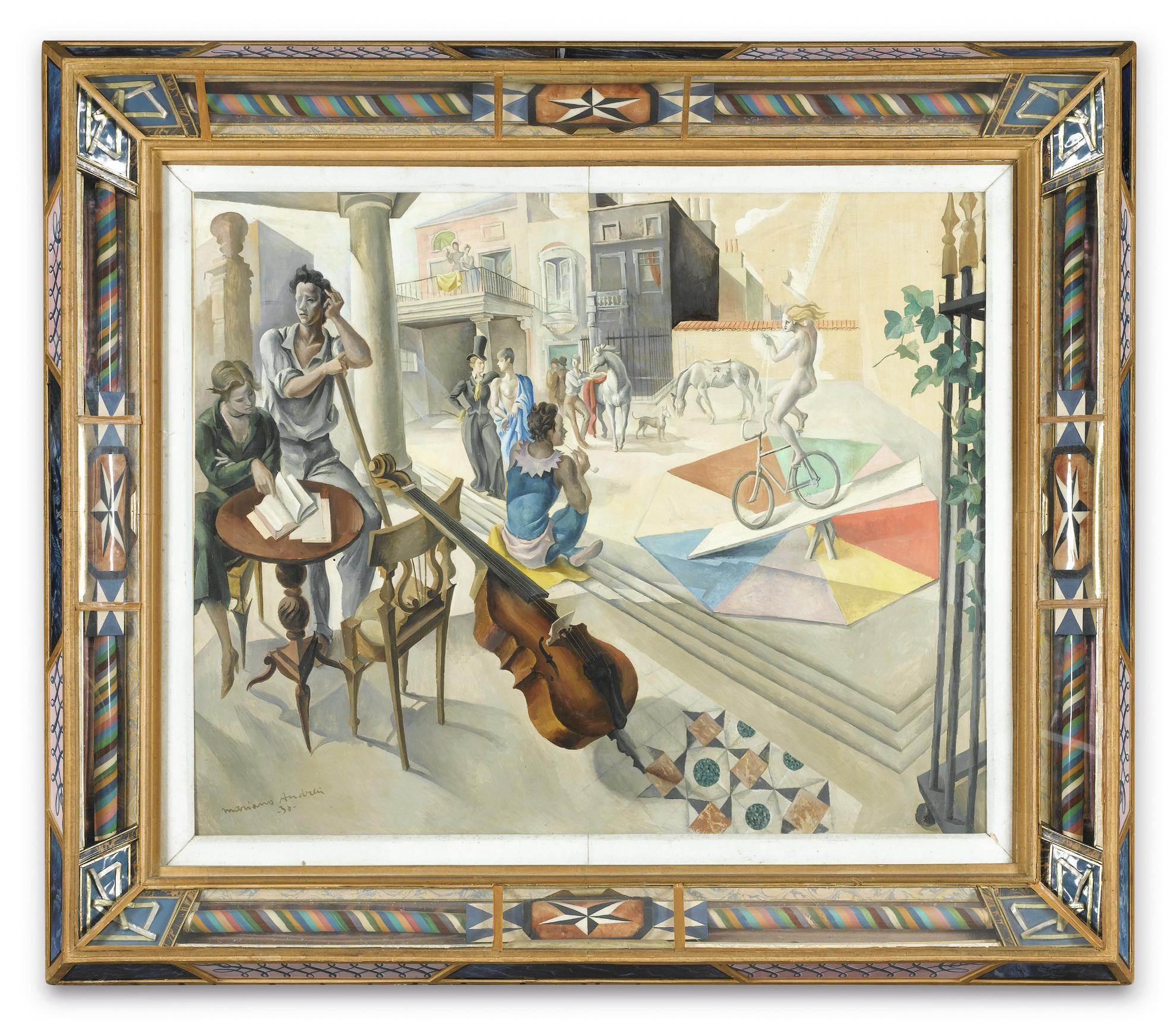Mariano Andreu - Le Cirque-1930