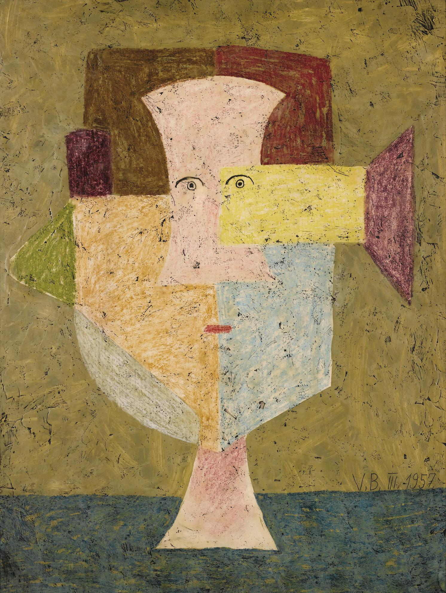 Victor Brauner-Le Pyreneen-1957